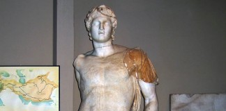 Statue of Alexander III in Istanbul Archaeology Museum.