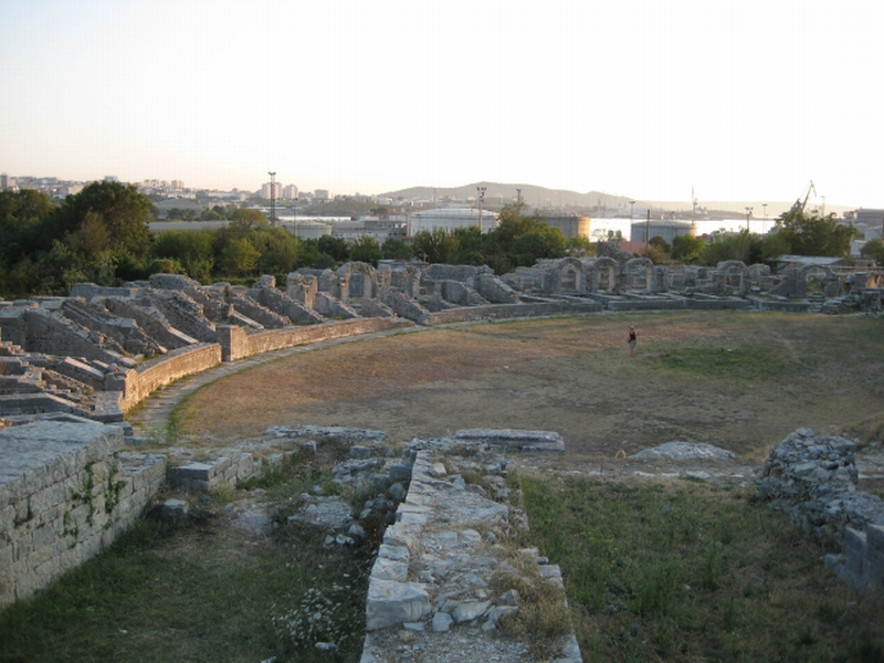 Amphitheatre in Salona
