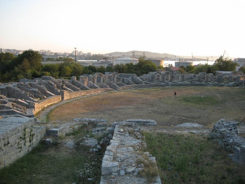 Amphitheatre in Salona