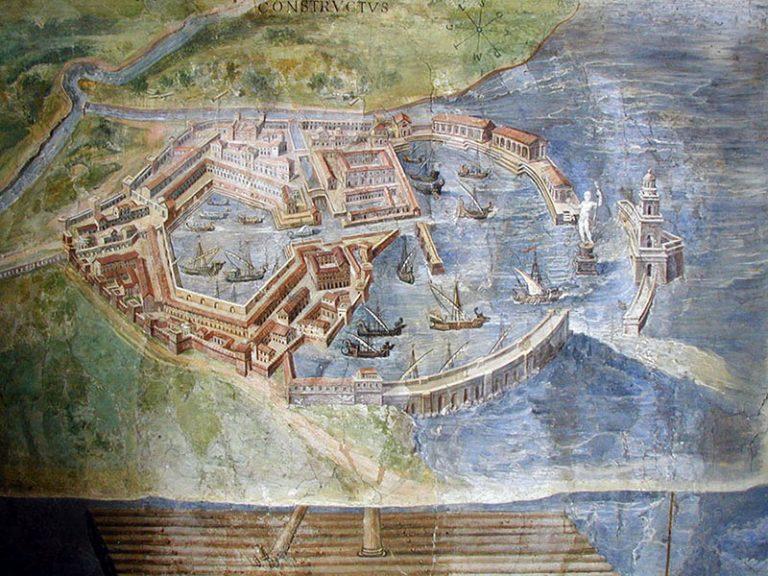 Ancient Roman Port-City Ostia