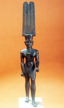 Small statue of Amon
