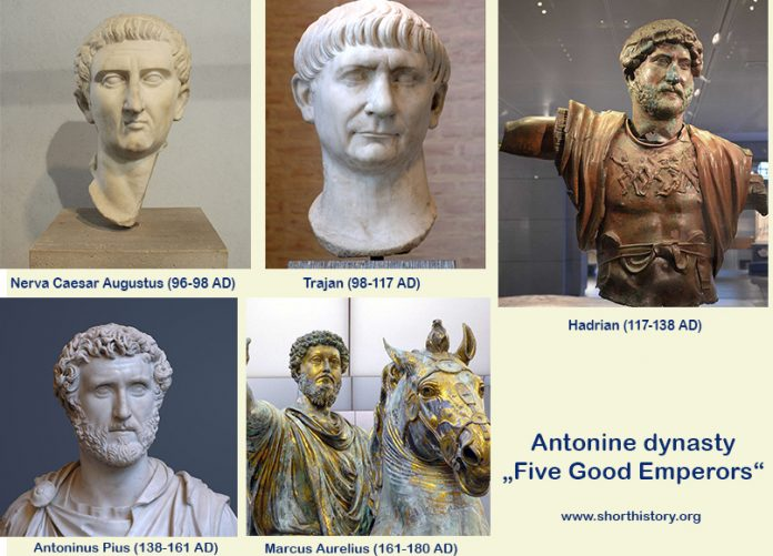 Five Good Emperors - Antonine dynasty in Roman empire