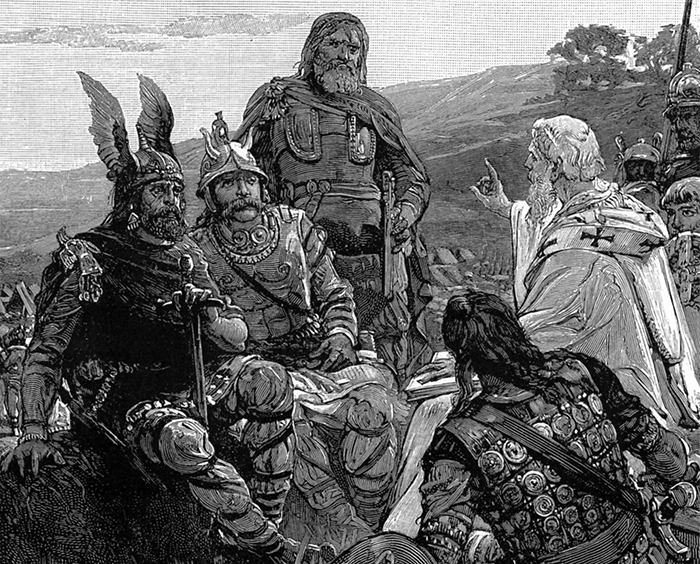 Short historical facts about origin of the Goths and their migration