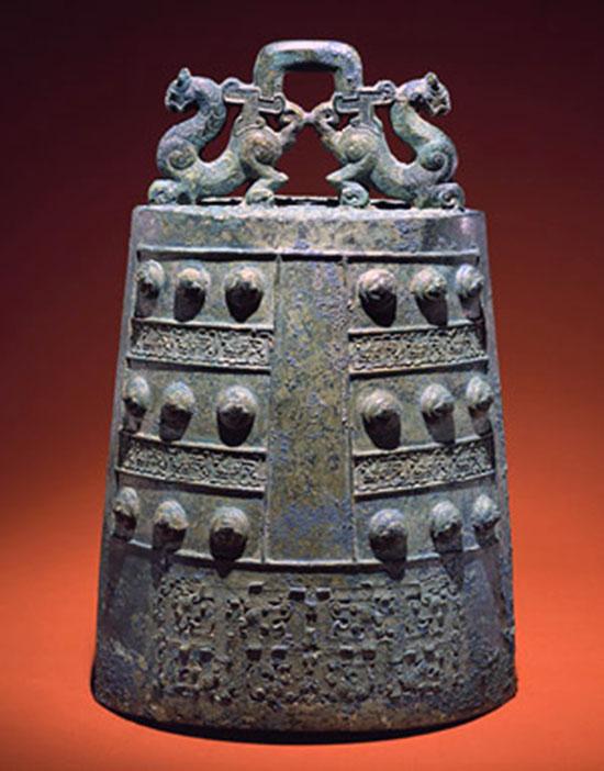 Bronze bell - Eastern Zhou dynasty