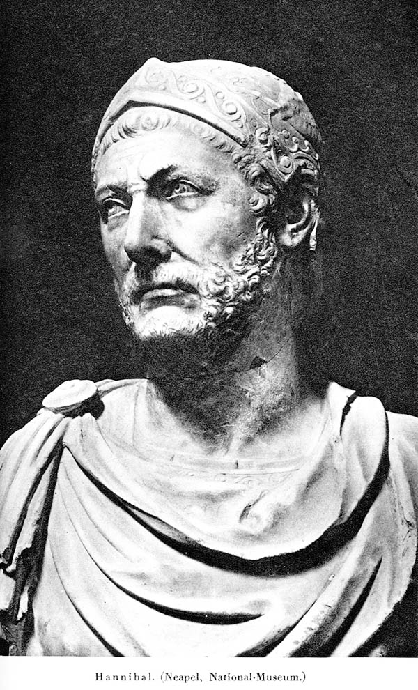 Bust of Hannibal discovered in Capua