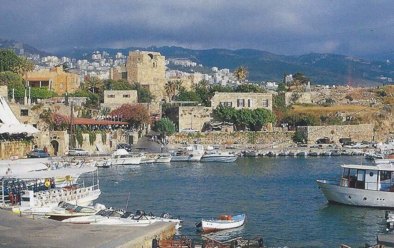 Phoenician cities Byblos and Sidon