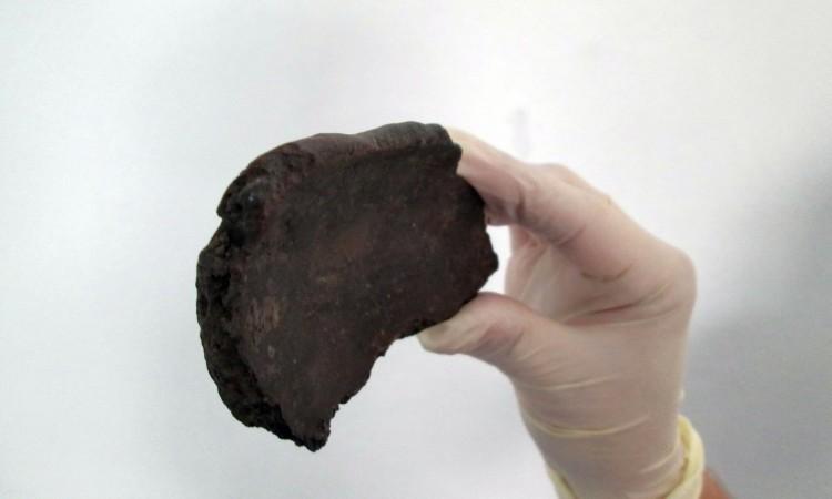 Ceramic fragment neolithic