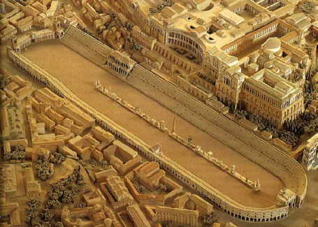 Circus Maximus in ancient Rome