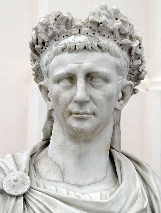 Bust of Emperor Claudius from Naples National Archaeological Museum
