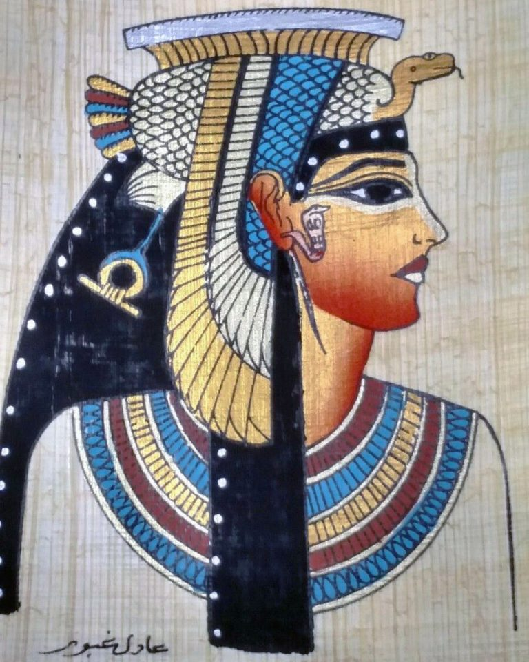 Cleopatra (51-30 BC) last Egyptian pharaoh