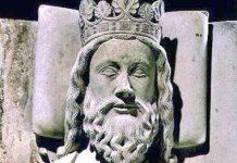 Thomb of Clovis in the Basilica of St Denis (Paris)
