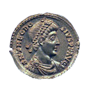 Coin of Theodosius I