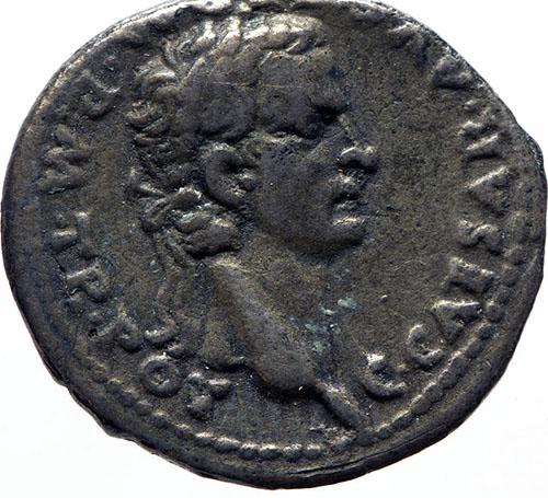 Denarius of Roman Emperor Gaius Caligula