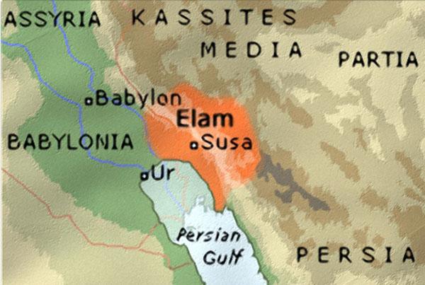 Elam map