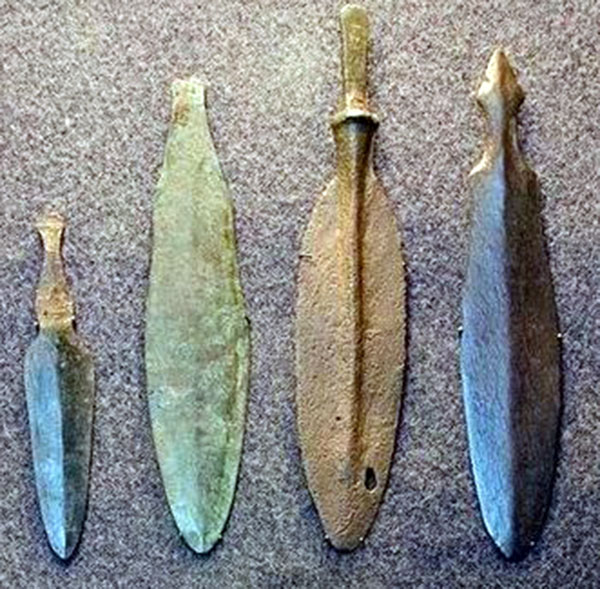 Weapons from eneolithic period