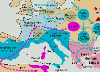 Migrations of the Visigoths and Ostrogoths