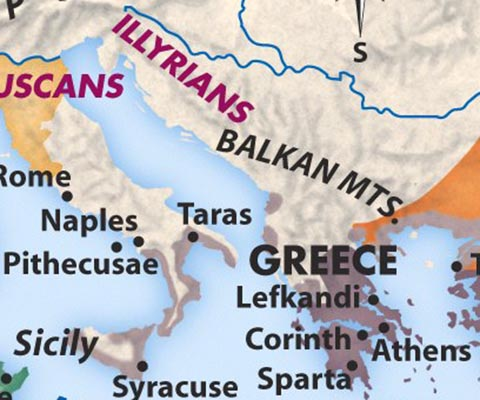 Greek colonies in Itally