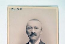 Portrait of Heinrich Schliemann. Heidelberg University Library