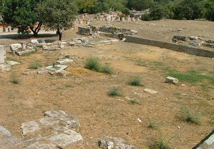 Heliaia ruins