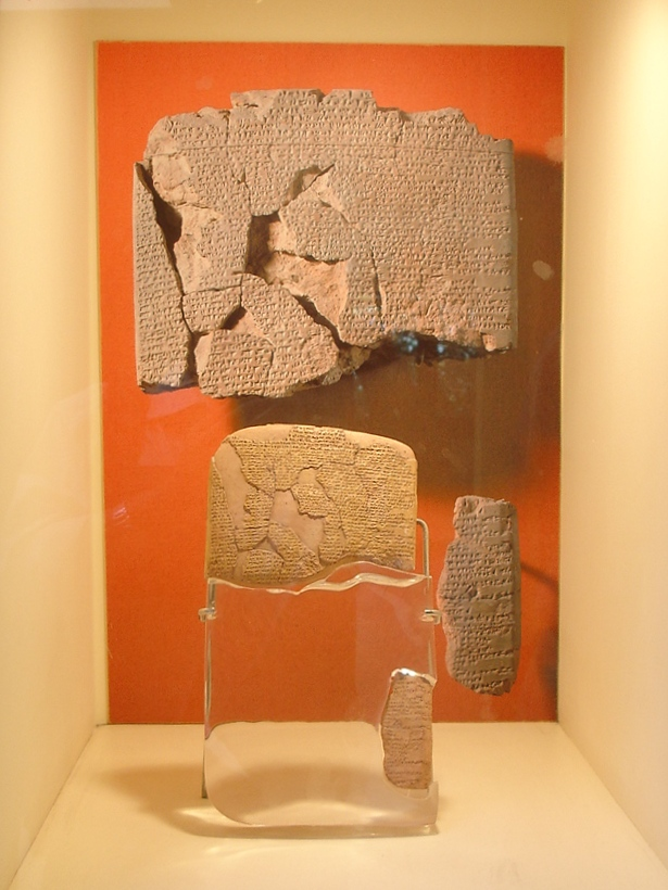 Hittite Egyptian Peace treaty. Picture by: Giovanni Dall'Orto in Istanbul Archaeological Museum