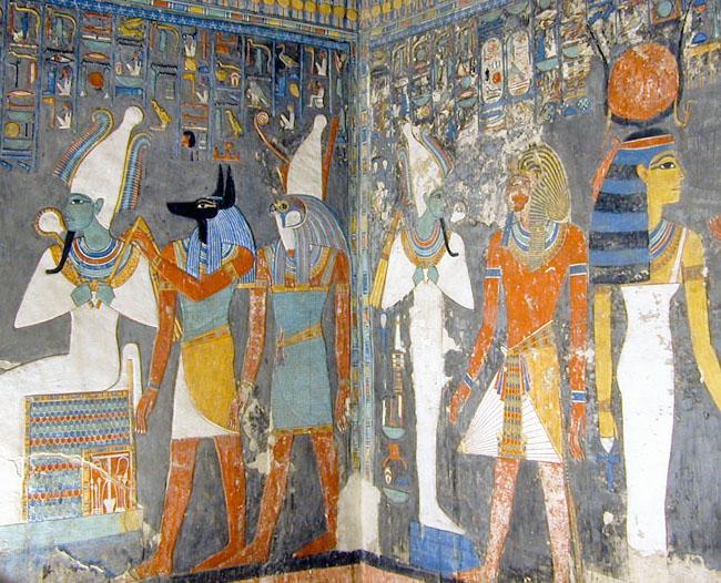 Horemheb Tomb Inside