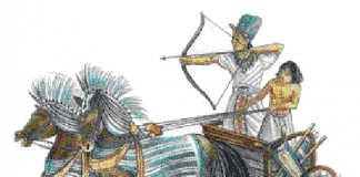 Example of Hyksos Warriors