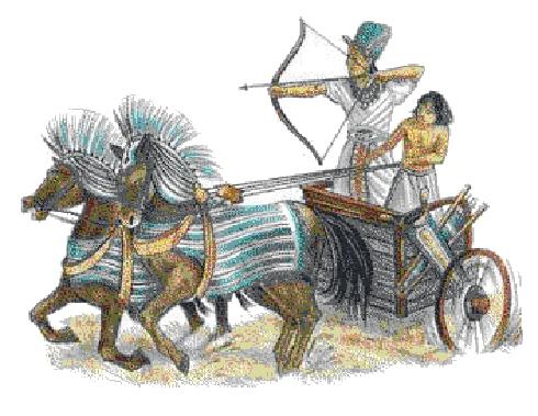 Hyksos rule over Egypt (1.650 – 1.550 B.C)