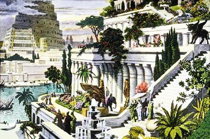 Interpretation image of Hanging Gardens of Babylon