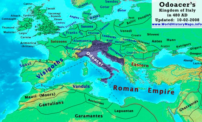 Ostrogoths prior to their arrival in Italy