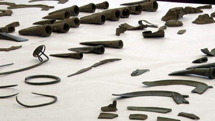 Bronze artefacts from village Markuse near Srebrenik
