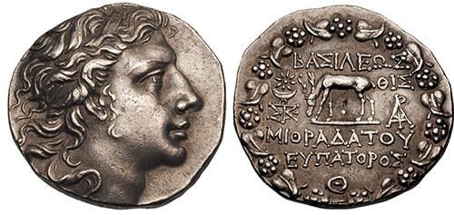 Mithridates VI coin