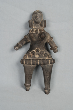Terracotta figure representing Mother Goddess. Image: National museum New Delhi www.nationalmuseumindia.gov.in