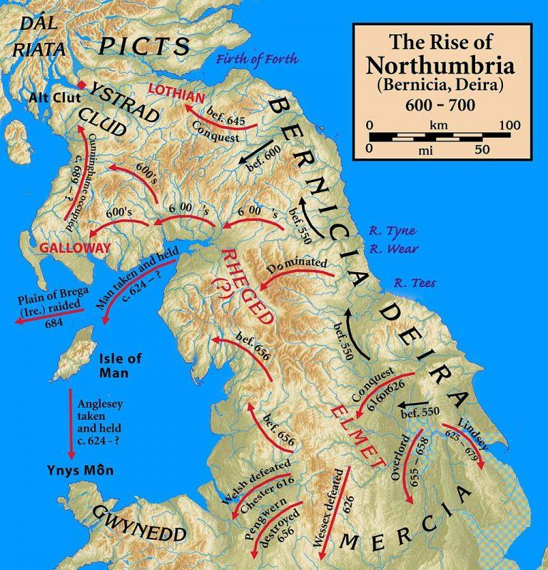 Northumbria 600-768