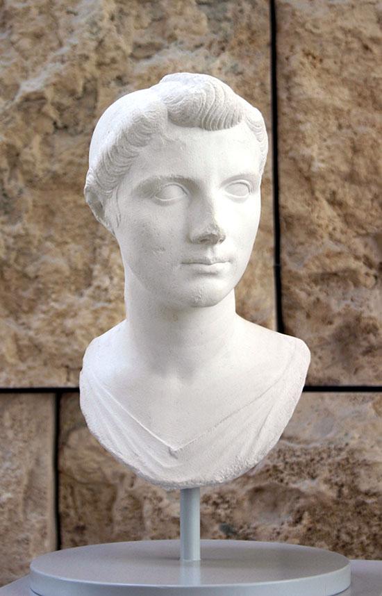 Octavia, elder sister of Gaius Octavius (Octavian).