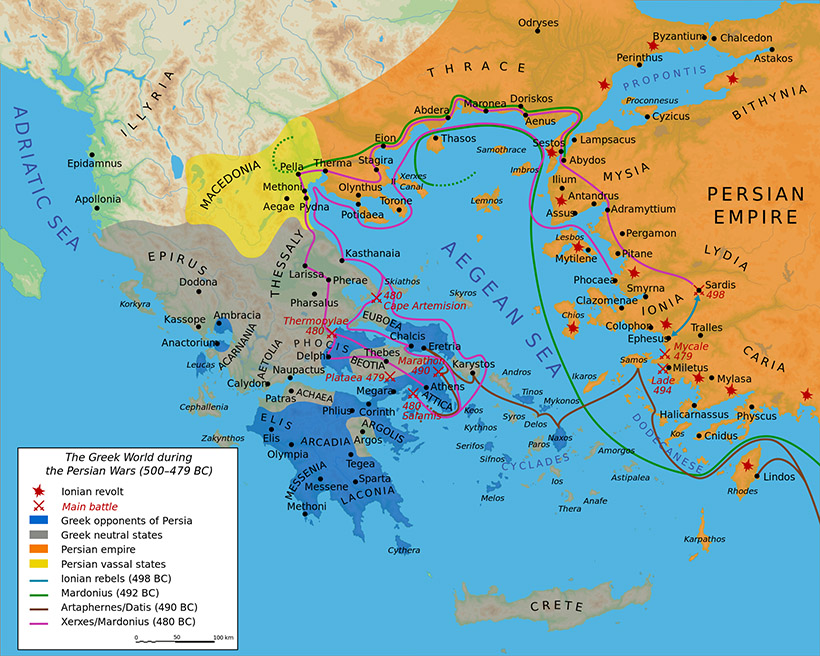 Persian Invasion of Greece.