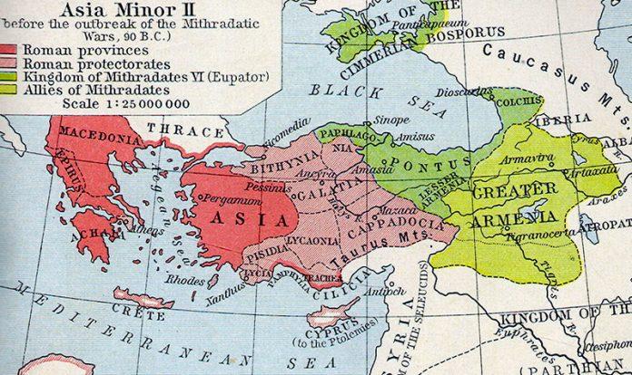 Pontus Kingdom 90BC