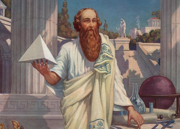 Illustration of Pythagoras
