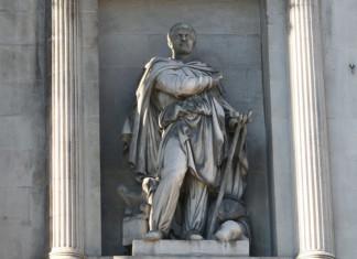 Statue of the explorer Pytheas of Massalia in Marseille.
