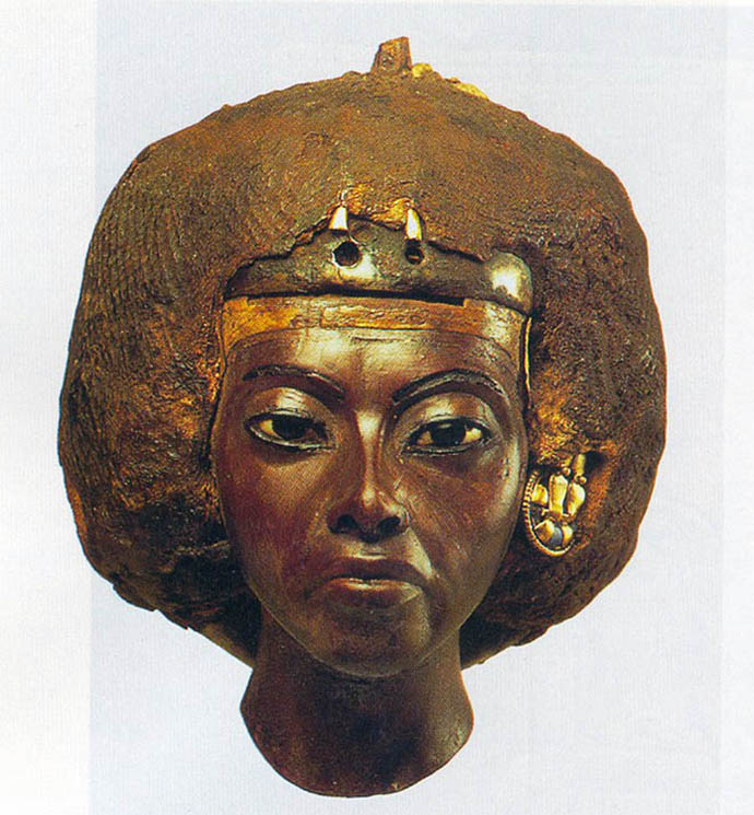 Queen Tiye portrait - Egyptian museum in Berlin