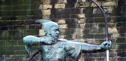 Robin_Hood_statue in Nottingham
