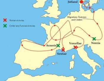 Roman versus Cimbri and Teutones