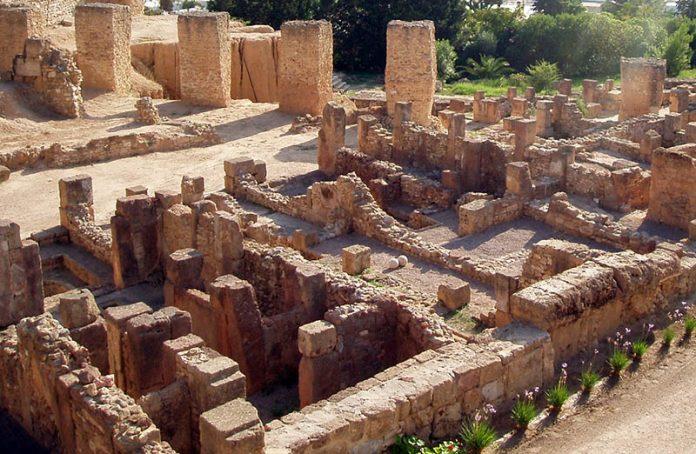 Ruins of Byrsa, Carthaginian Citadel