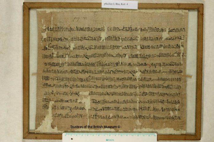 Salier papyrus