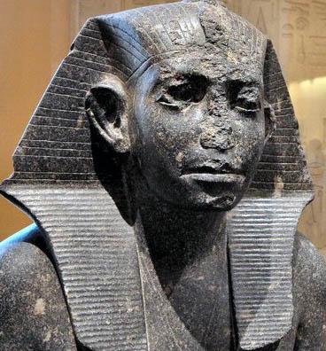 Sesostris III statue