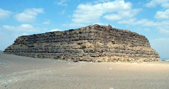 Mastaba of Shepseskaf (IV Dinasty) http://narmer.pl/pir/szepses_en.htm