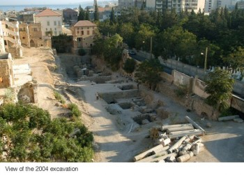 The excavations at Sidon by British archeologists