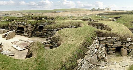 Skara Brae Neolithic settlements