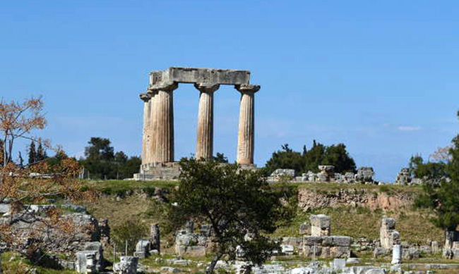 Temple of Apollo in Corinth