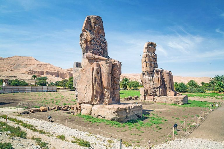 Ancient Egyptian cities Thinis and Thebes