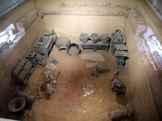 Tomb Fu Hao YinXu.